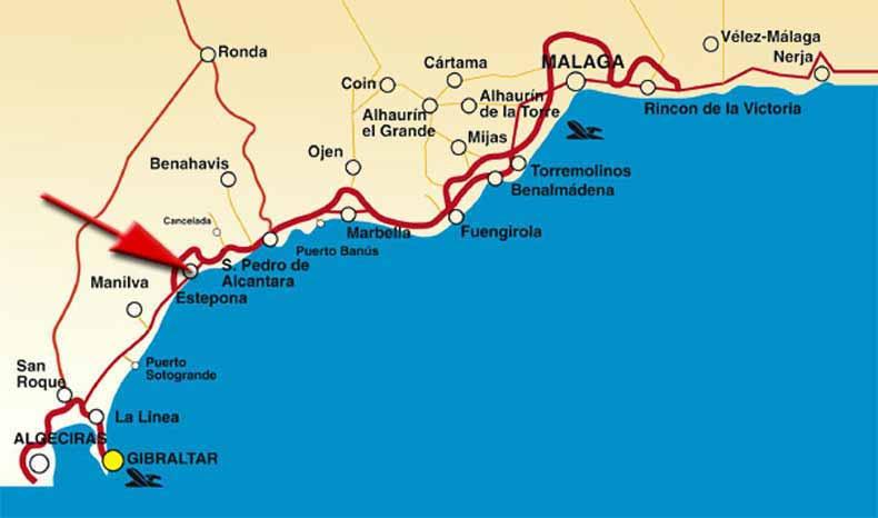 Informatie Over De Costa Del Sol En Andalusie